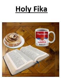 Holy Fika Wednesday